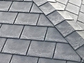 Slate conservatory roof tiles
